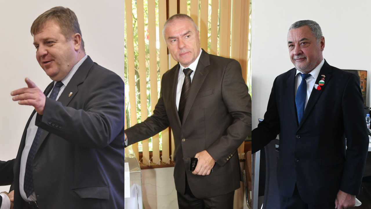 ВМРО, ВОЛЯ и НФСБ се обединиха - явяват се заедно на изборите