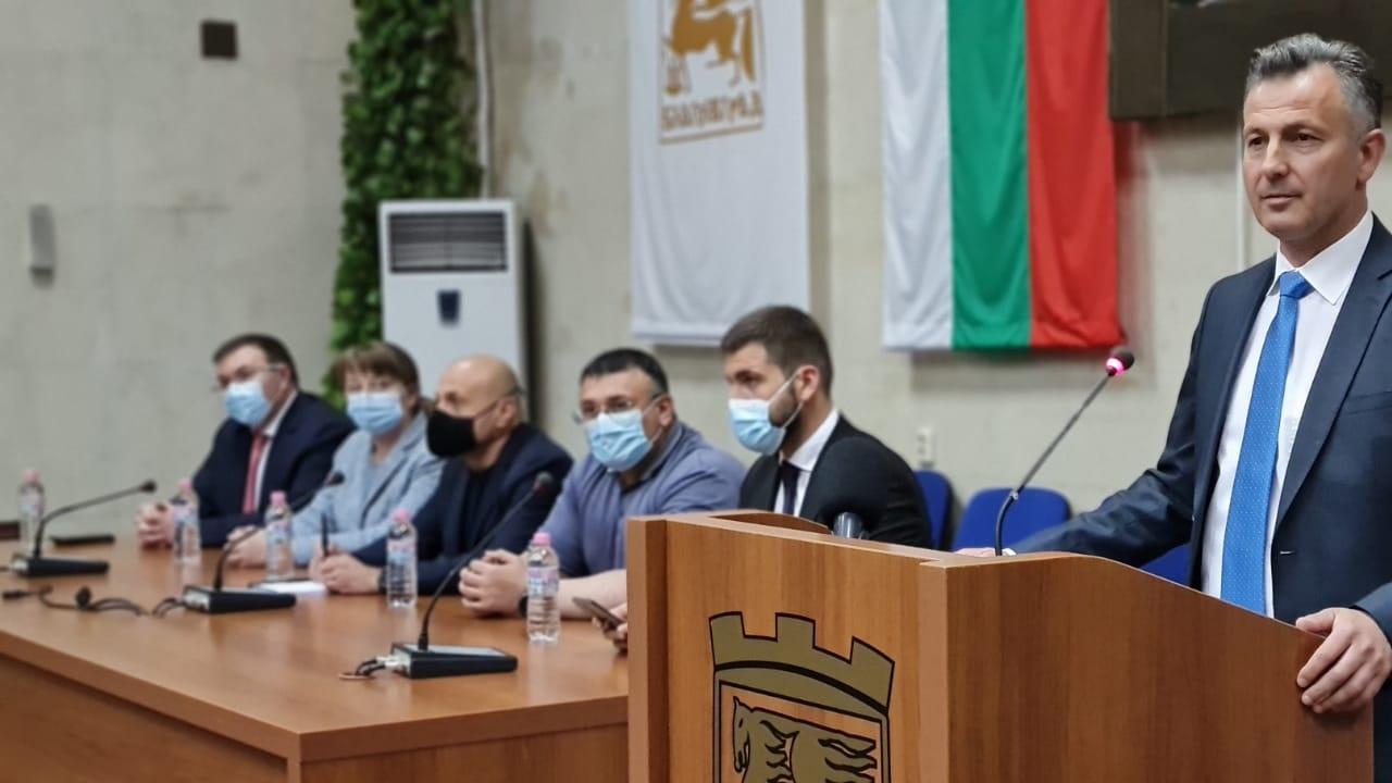 ГЕРБ подкрепи кандидатурата за кмет на Благоевград на Андон Тодоров