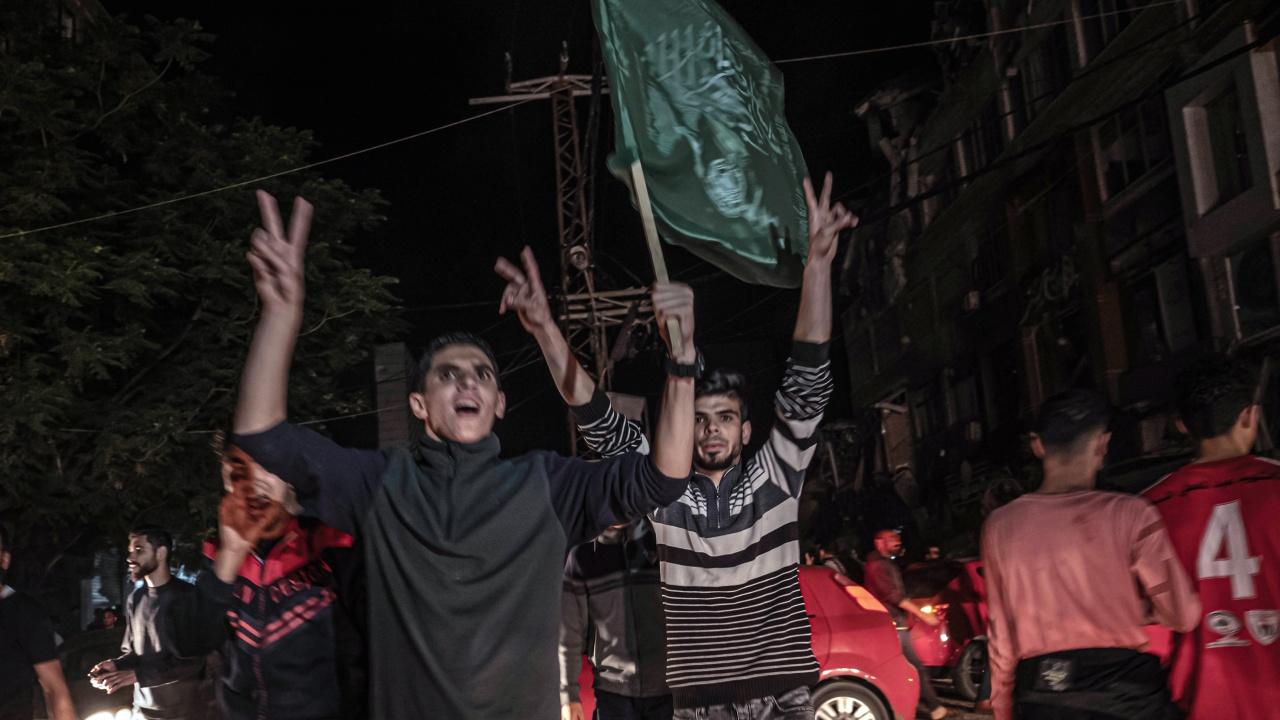 B ивицата Газа празнуваха победа в конфронтацията с Израел