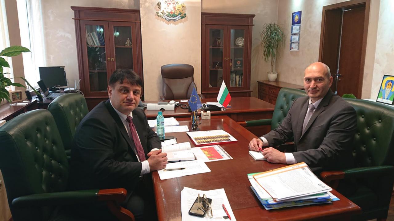 Новият областен управител на Софийска област проведе редица срещи във връзка с изборите