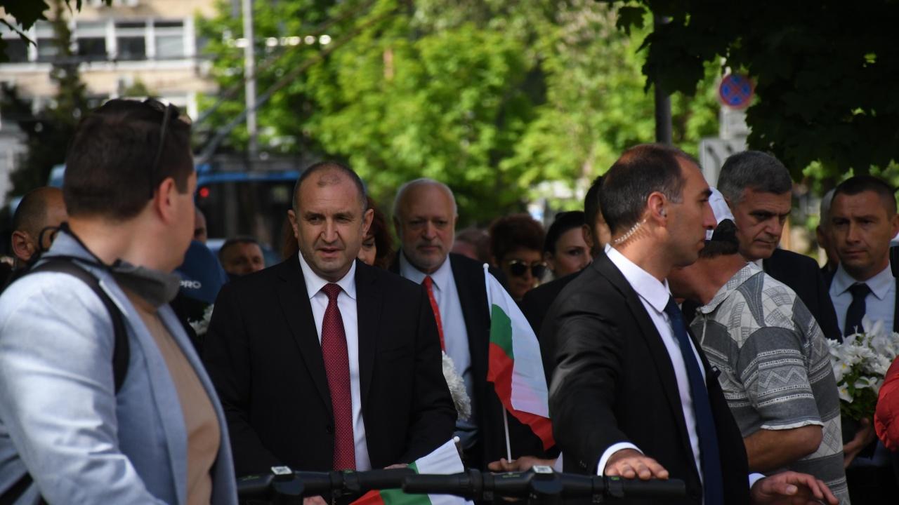 Румен Радев с коментар за подслушванията и за Република Северна Македония