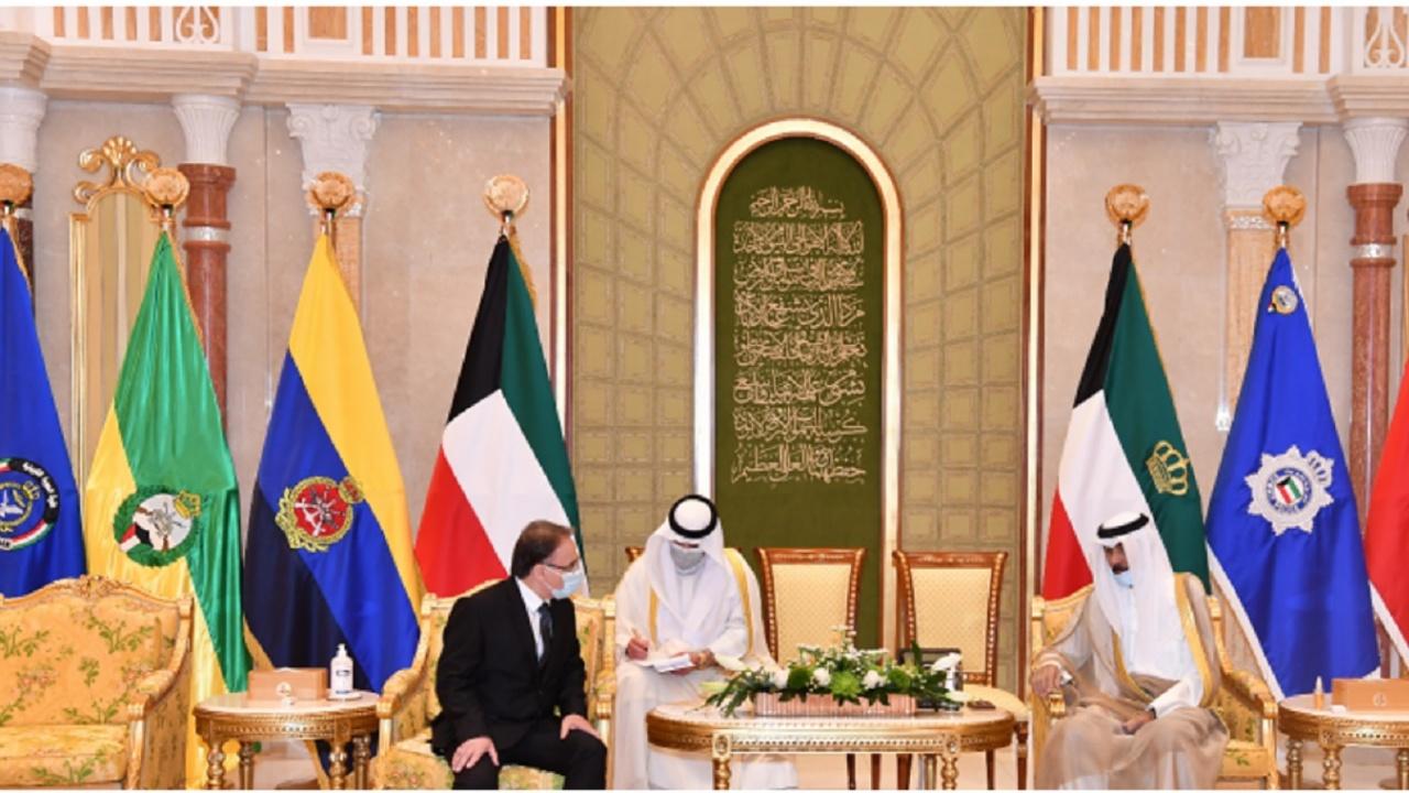 Посланик Димитър Димитров връчи акредитивните си писма на емира на Кувейт