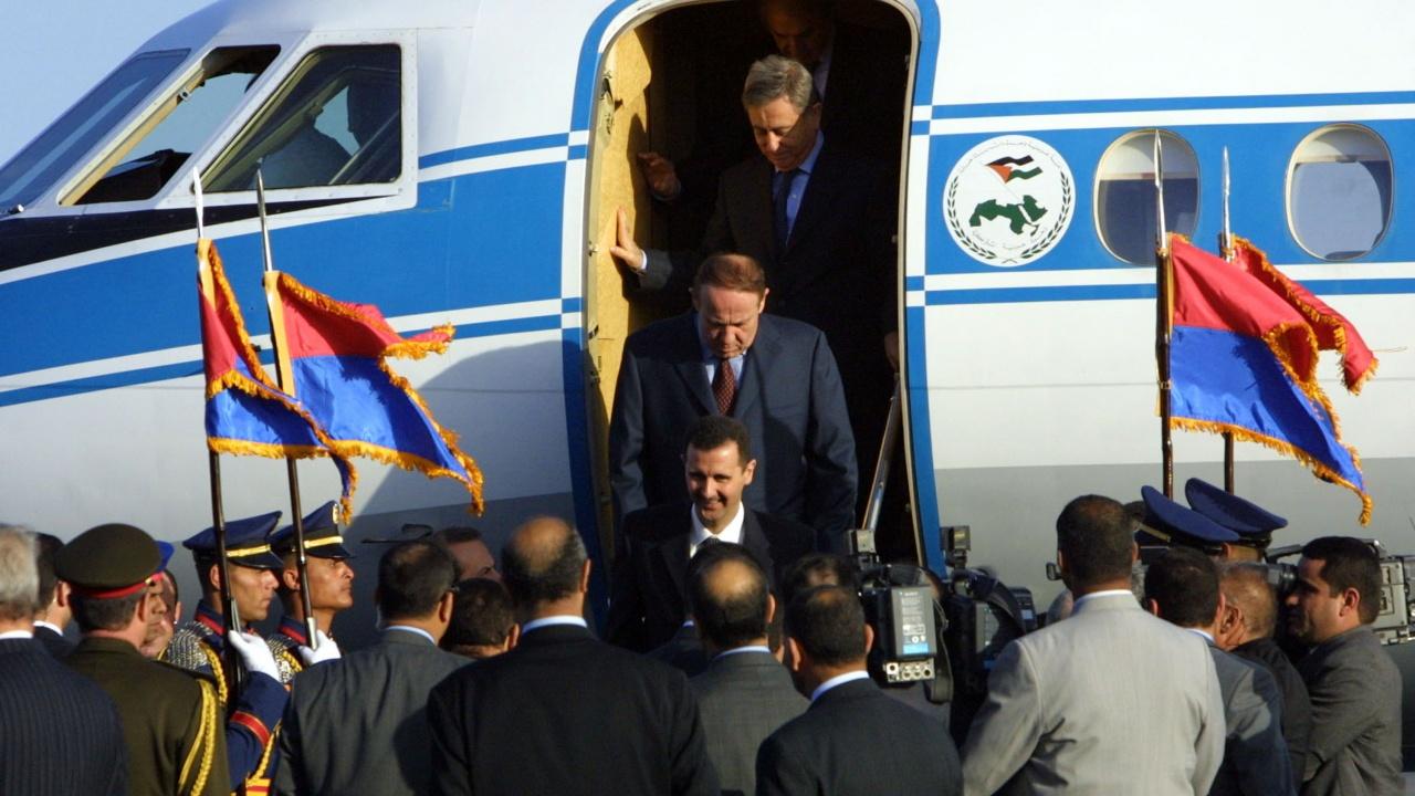 Президентът на Сирия Башар Асад беше преизбран за четвърти мандат