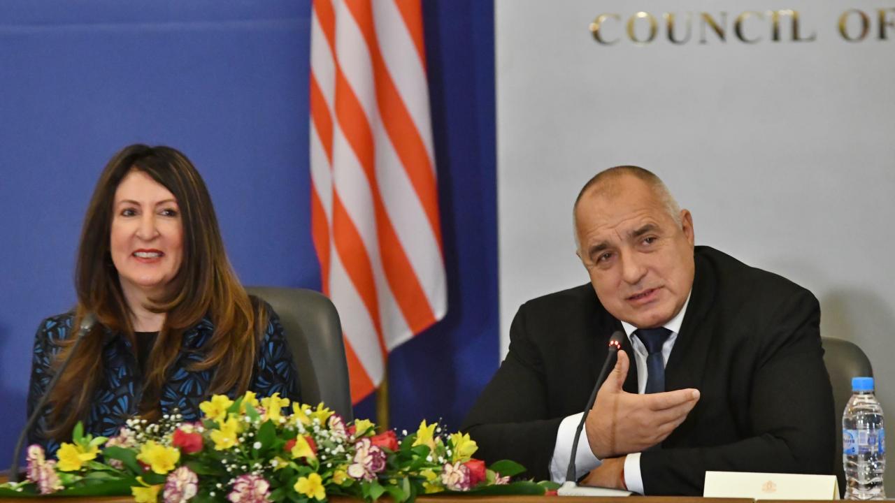 Бойко Борисов се е срещнал с американския посланик Херо Мустафа