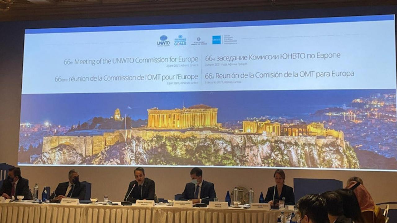 Стела Балтова участва във форум на Световната организация по туризъм в Атина