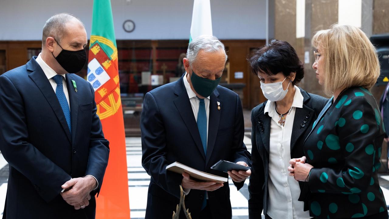 Румен Радев: България и Португалия са единни в стремежа си да работят за по-добро бъдеще на Европа