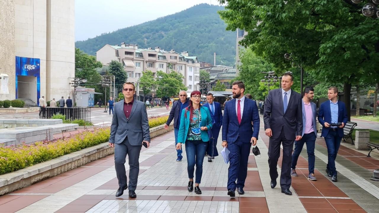 ГЕРБ – Благоевград регистрира листата си за участие в  парламентарните избори