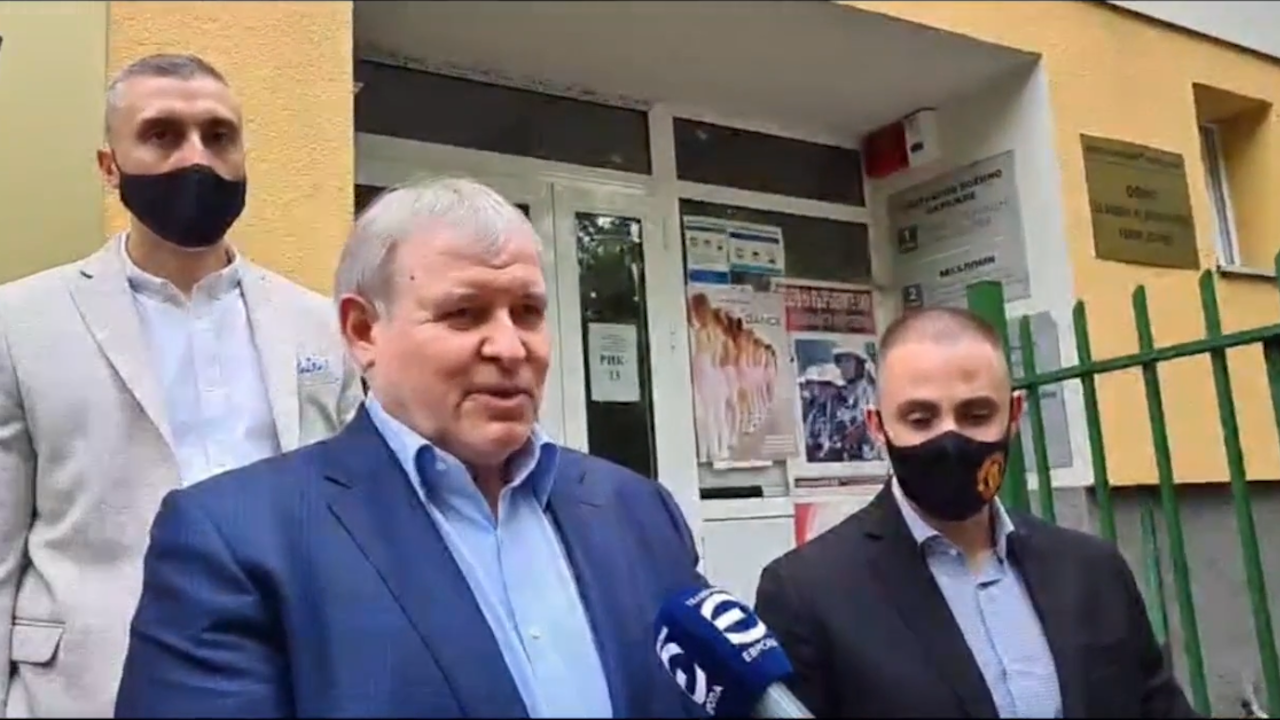 Коалиция ГЕРБ - СДС регистрира листата си в София