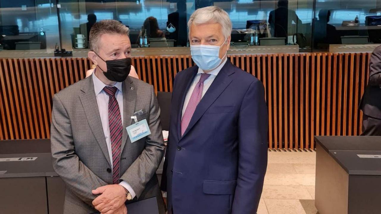 Янаки Стоилов участва в заседание на съвета на министрите на правосъдието на ЕС