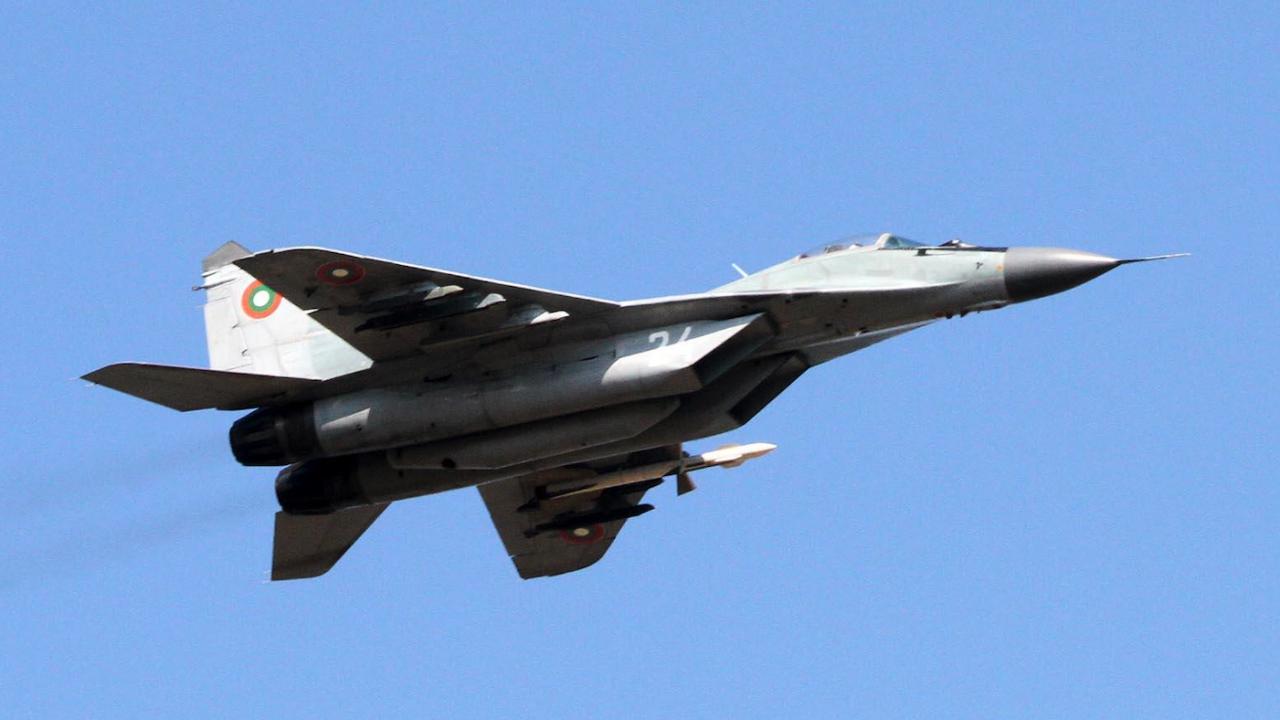 Изтребител на ВВС е паднал в Черно море