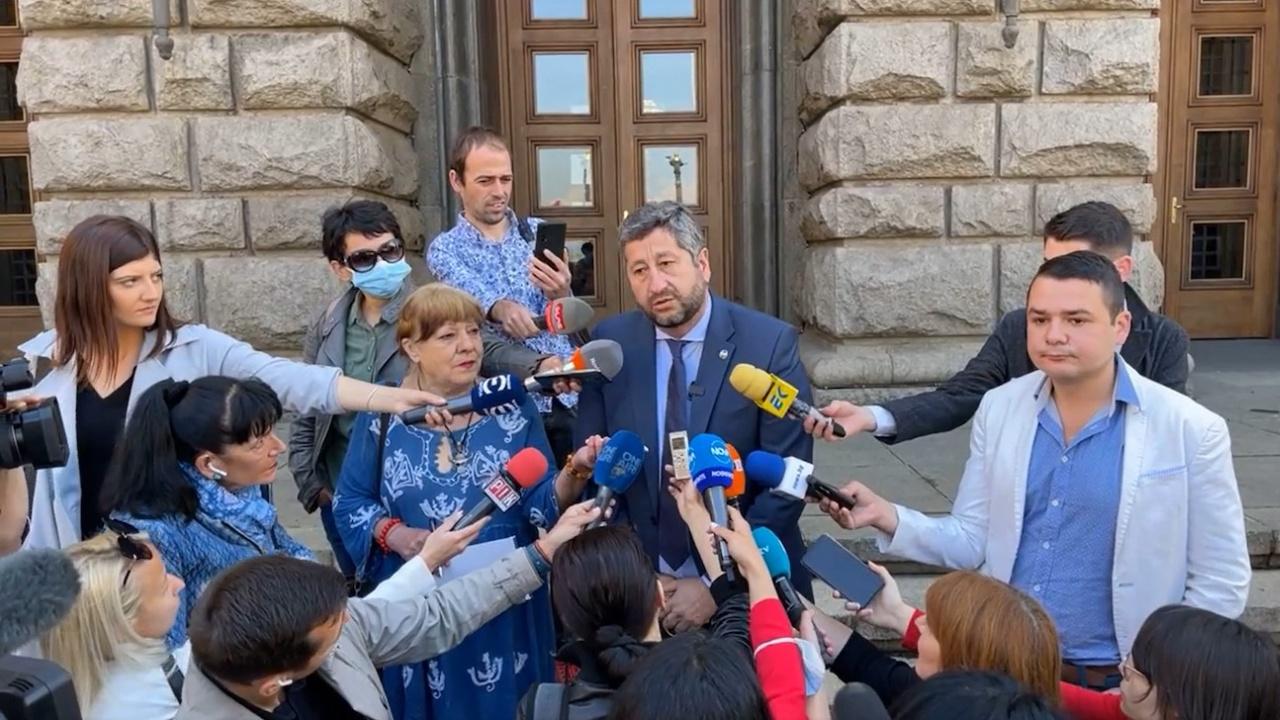 """Христо Иванов: """"Демократична България"""" има ясна кауза и воля да я отстои докрай"""