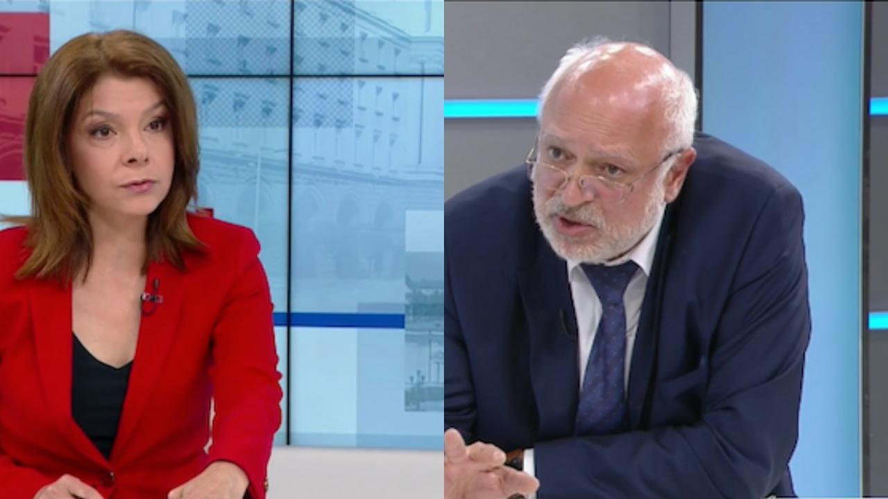 """Проф. Минеков в лют спор в ефир с водещата на """"Още от деня"""" по БНТ"""