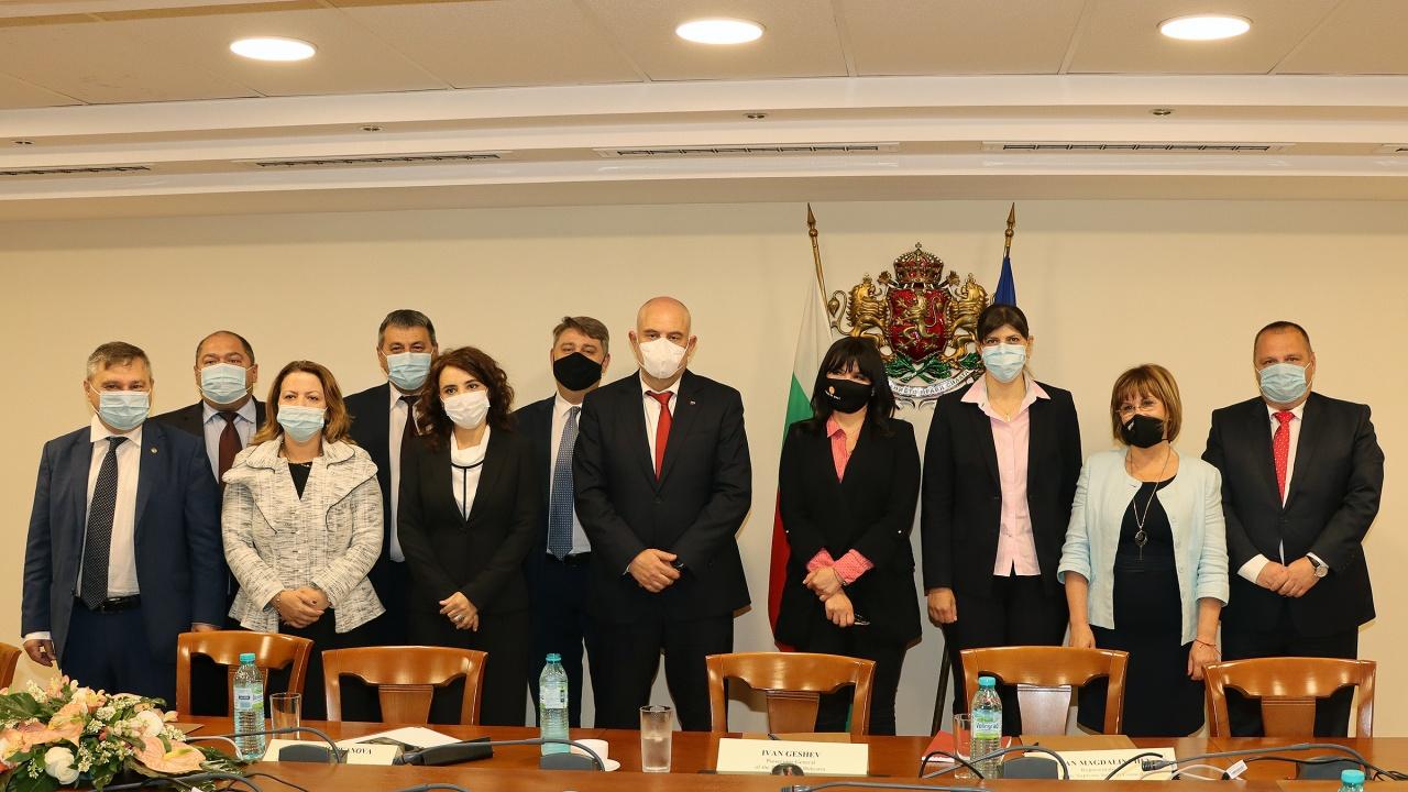 Кьовеши се срещна с Висшия съдебен съвет