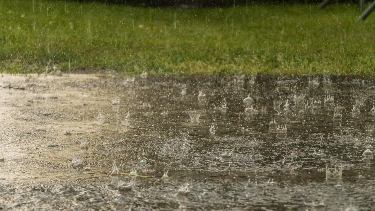 Пороен дъжд наводни улици във Велико Търново