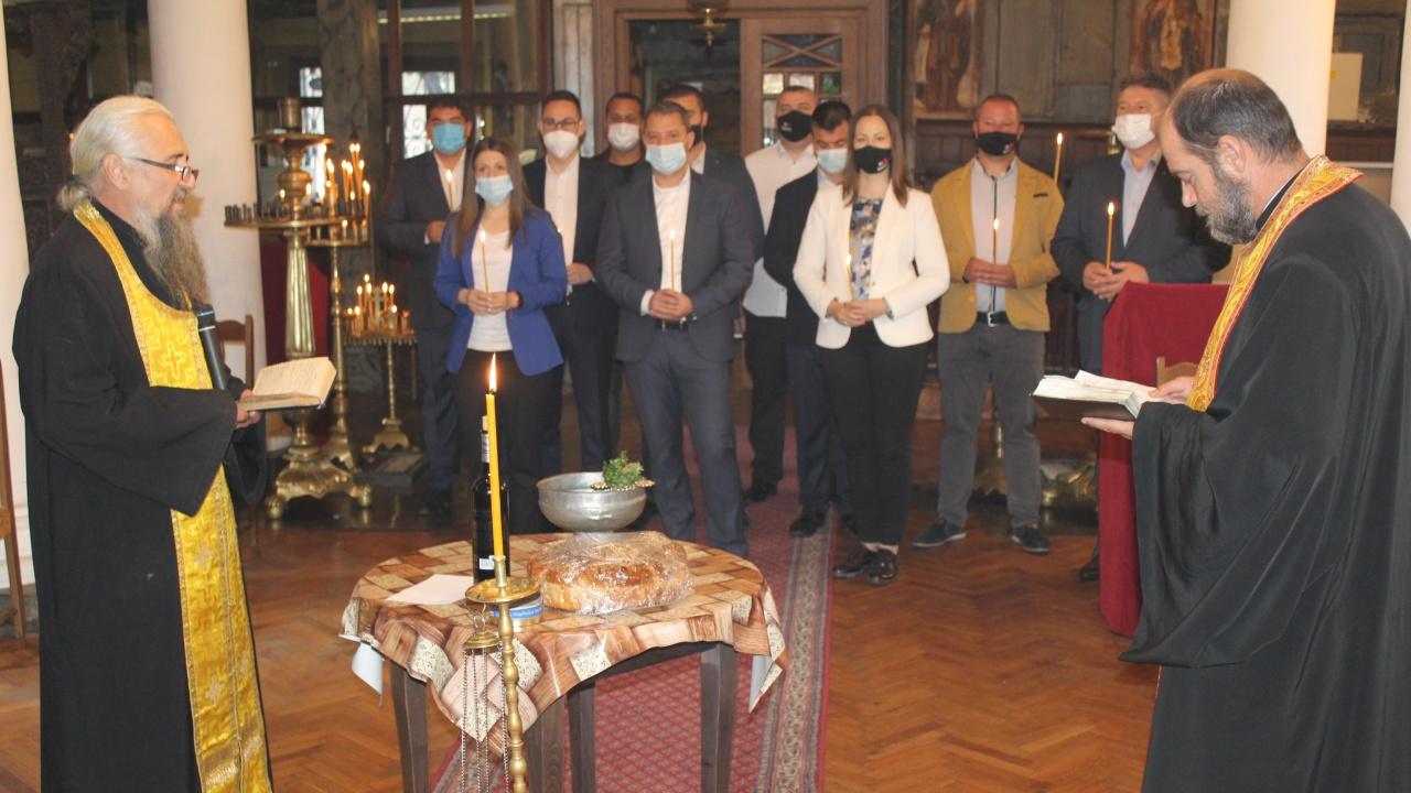 ГЕРБ-СДС откри кампанията си в Хасково с водосвет