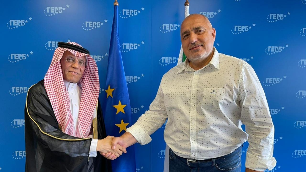 Борисов се срещна с посланика на Саудитска Арабия Месфер Алгхасеб