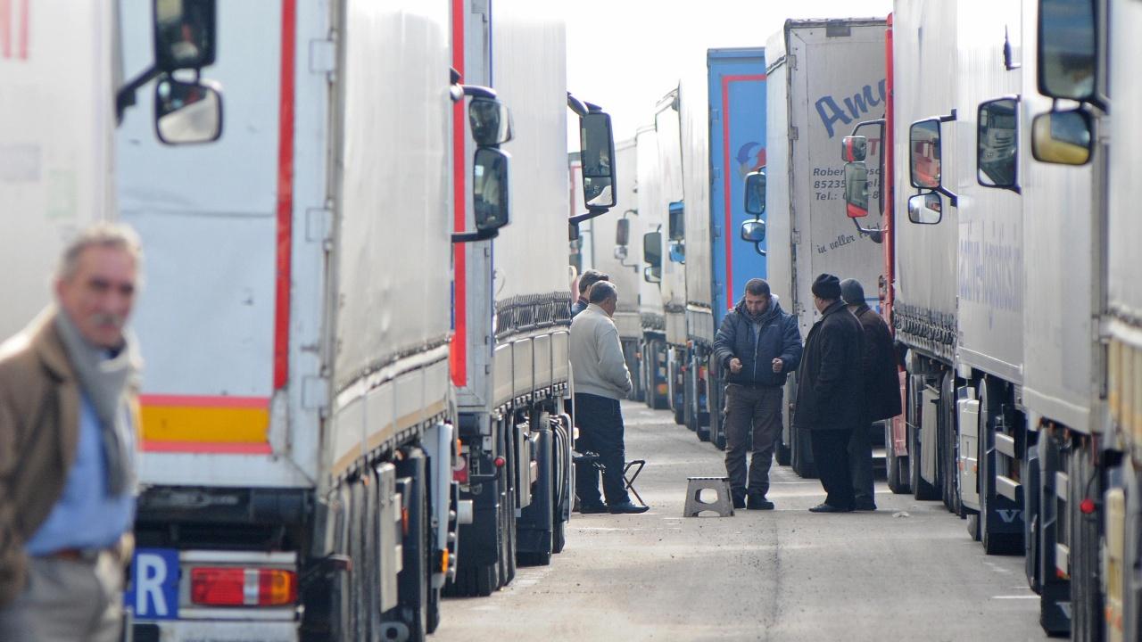 """""""Зелен коридор"""" за празните камиони на ГКПП """"Кулата"""""""