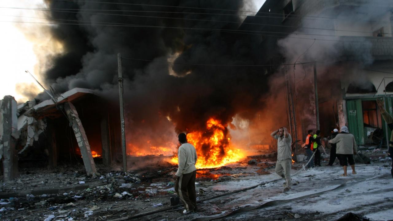 Израел е нанесъл въздушни удари по позиции на Хамас в ивицата Газа
