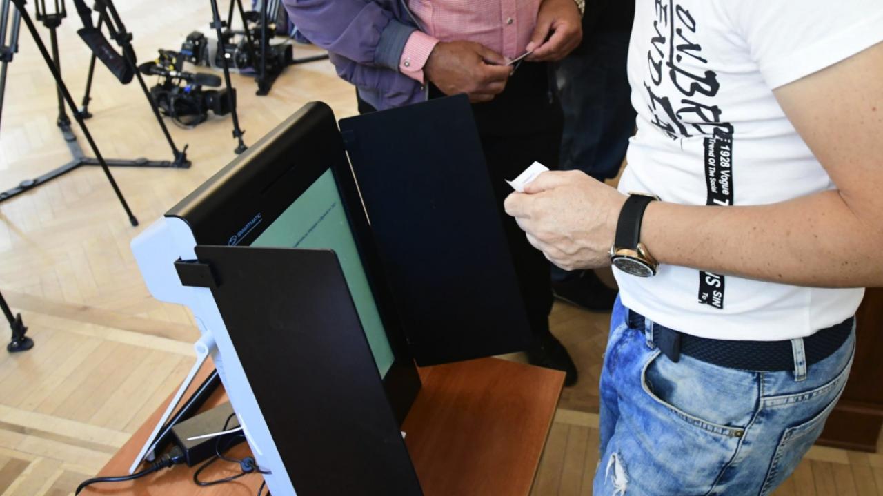 ЦИК открива секция за информация, свързана с машинното гласуване