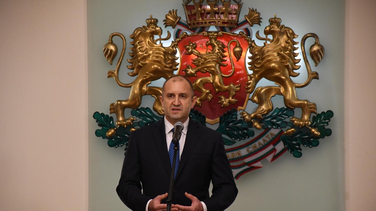 Румен Радев: Европейската перспектива на Северна Македония е от огромно значение за нас