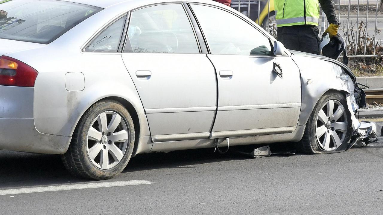 Верижна катастрофа на пътя Плевен-Бяла