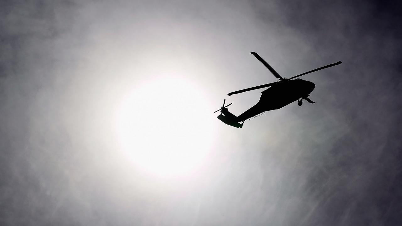 В Иран се разби хеликоптер, превозващ урни от избирателните участъци