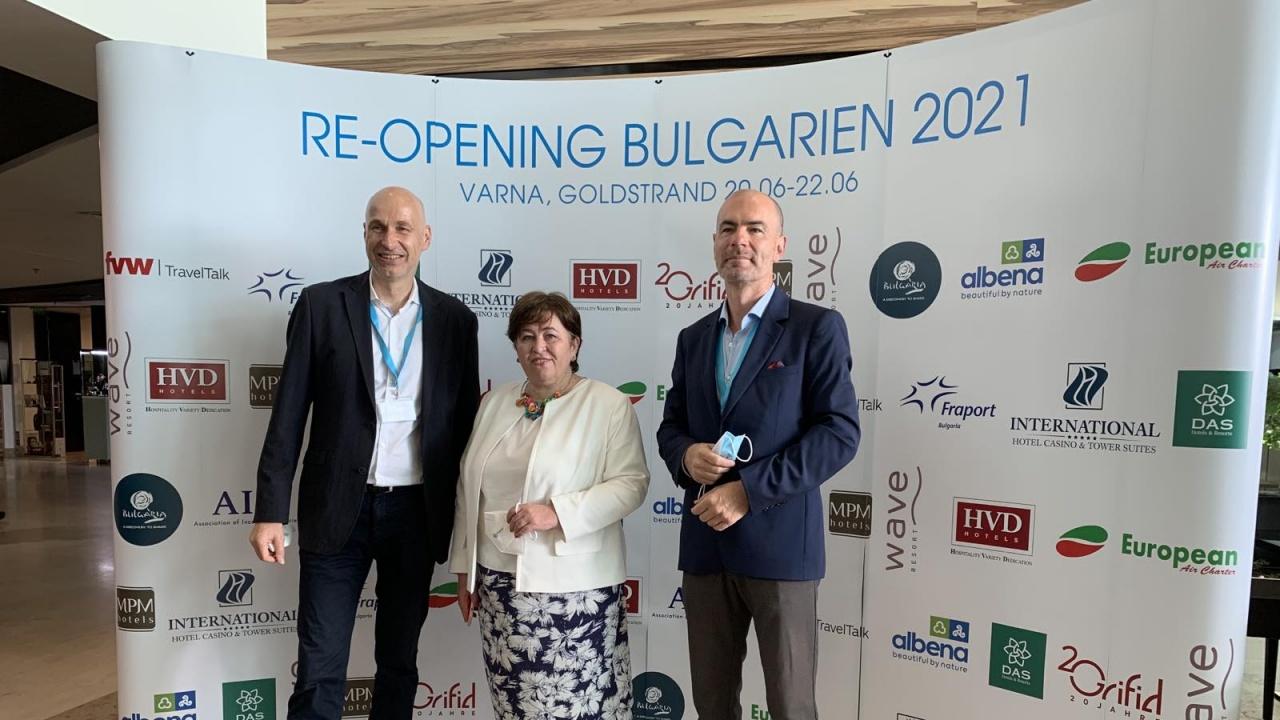 Министър Балтова приветства откриването на експедиентски тур за едни от най-големите и влиятелни представители на германския туристически бизнес
