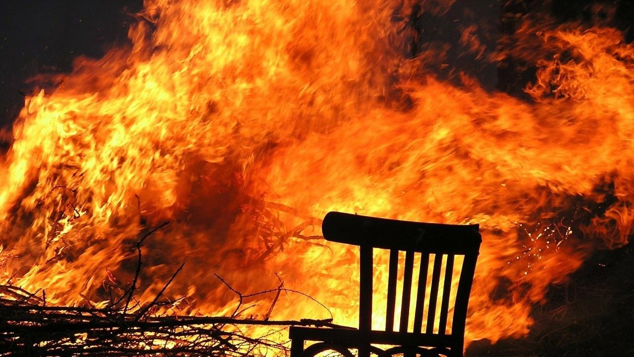 Труп след пожар в с. Шипочано