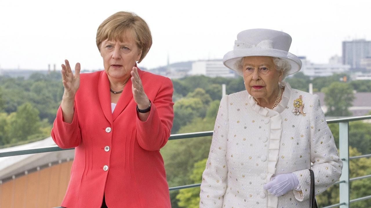 """Кралица Елизабет II  ще посрещне Ангела Меркел в замъка """"Уиндзор"""" в петък"""