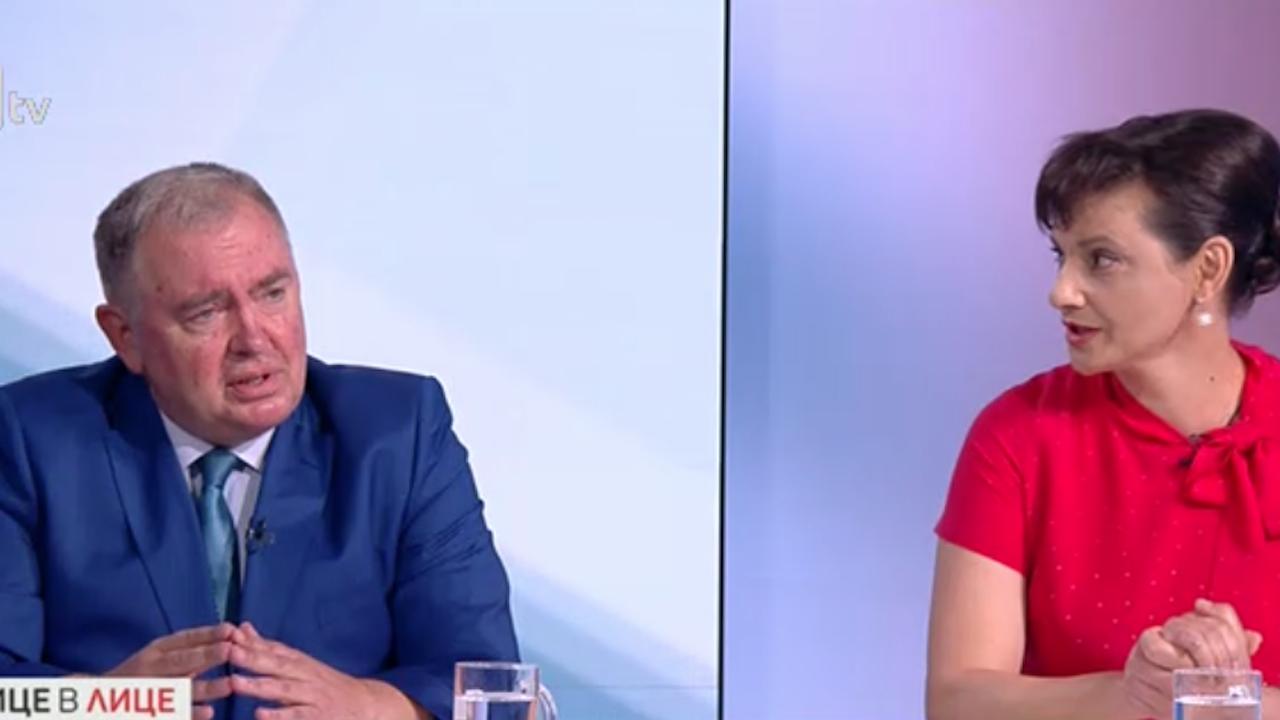 Жесток спор между Даниела Дариткова и проф. Георги  Михайлов за управлението на COVID кризата