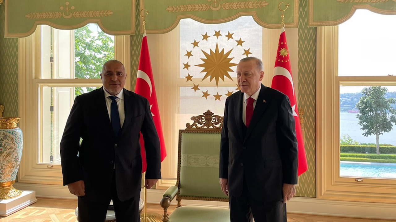 Борисов отиде при Ердоган