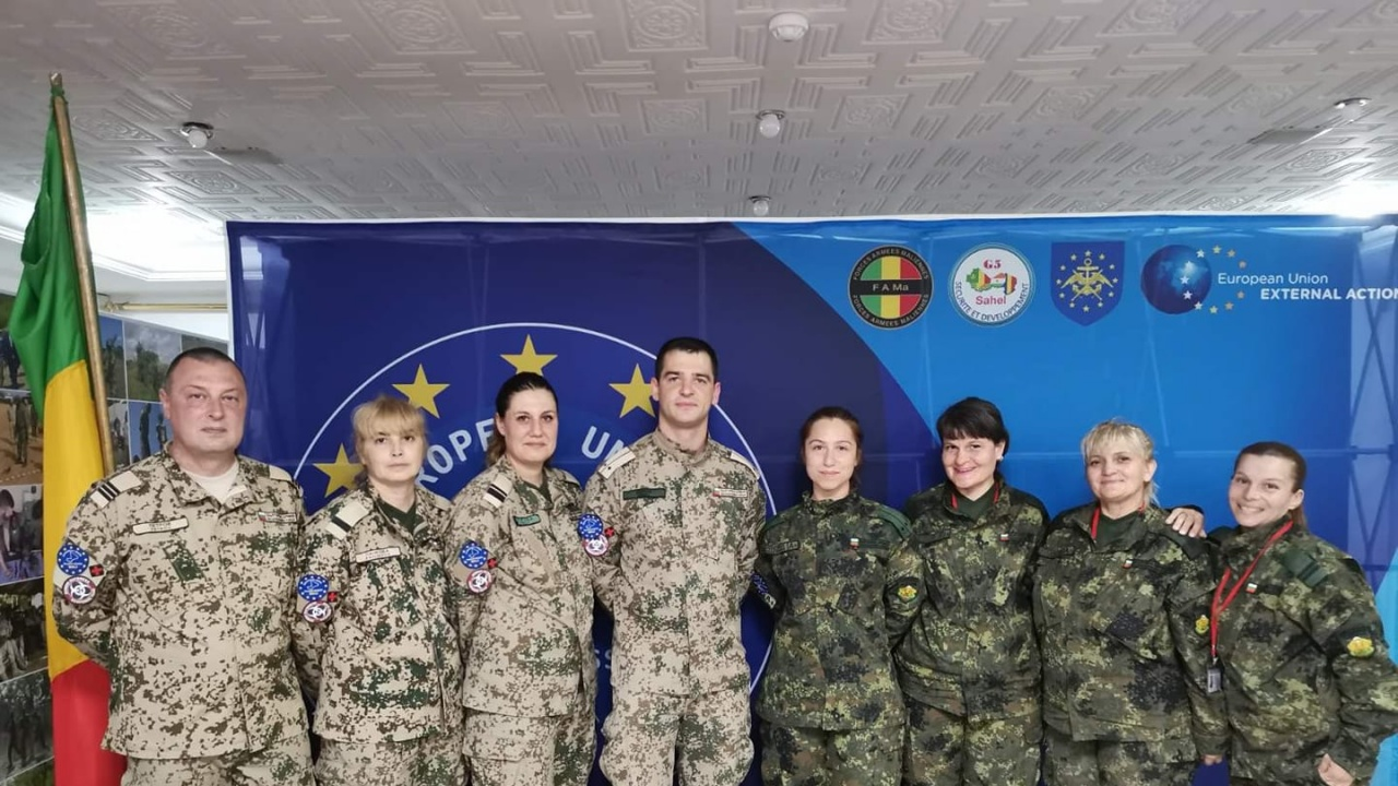 Още един екип на ВМА с награда за успешна мисия в Мали
