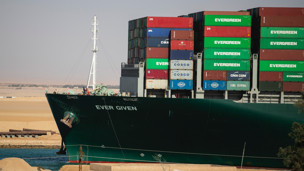 """Египет ще освободи танкера """"Евър Гивън"""""""