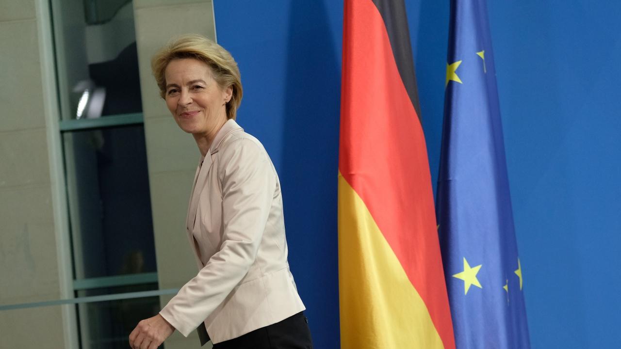 """Фон дер Лайен: ЕС """"никога, никога"""" няма да приеме двудържавното решение за Кипър"""