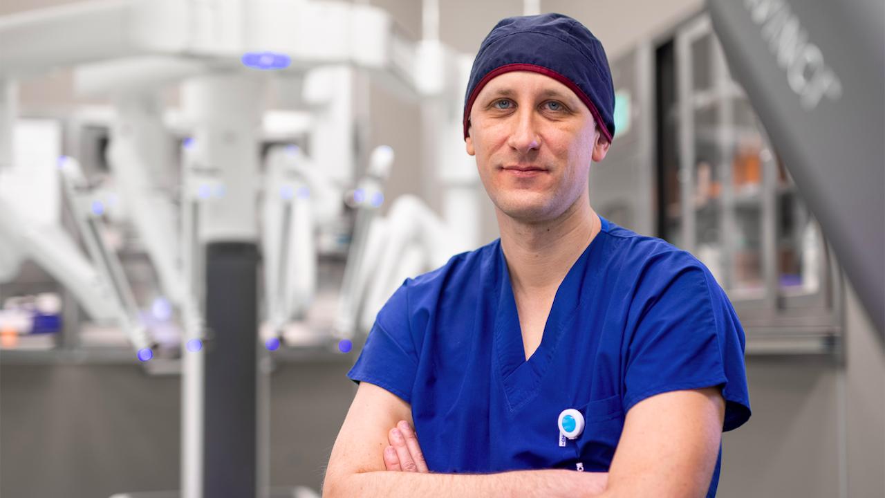 Д-р Лъчезар Танчев: С новия робот Da Vinci имаме по-голяма свобода на действие при работа върху различни органи