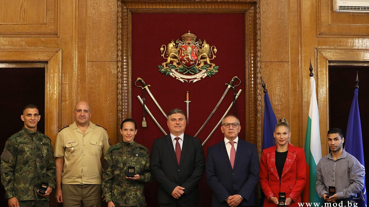 Георги Панайотов пожела успех на Олимпиадата в Токио на българските военни спортисти