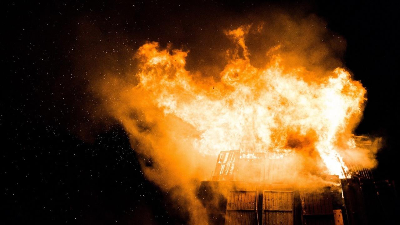 Шестгодишно дете предизвика пожар след игра с кибрит