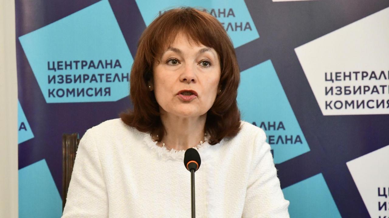 Росица Матева от ЦИК отговори на Бойко Борисов