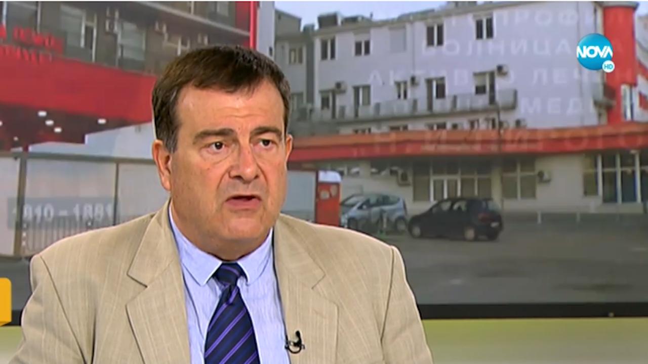 """Зам.-здравният министър: Балтов не е """"Пирогов""""! Поклон пред лекарите и сестрите от болницата"""