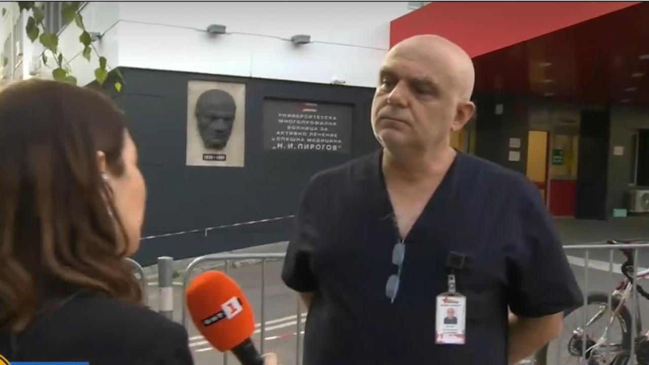 """Лекуващият лекар на д-р Кацаров в """"Пирогов"""" разкри бил ли е министърът с фалшива хоспитализация"""