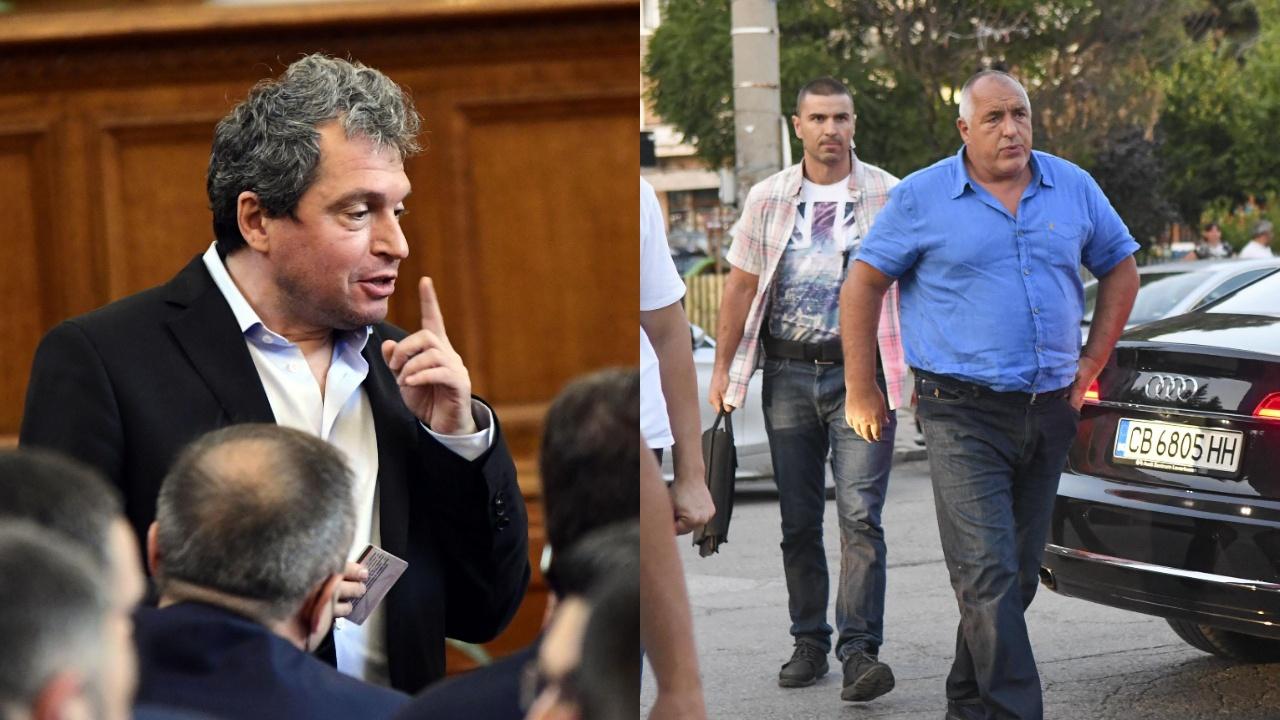 Тошко Йорданов отнема охраната на НСО от Борисов?