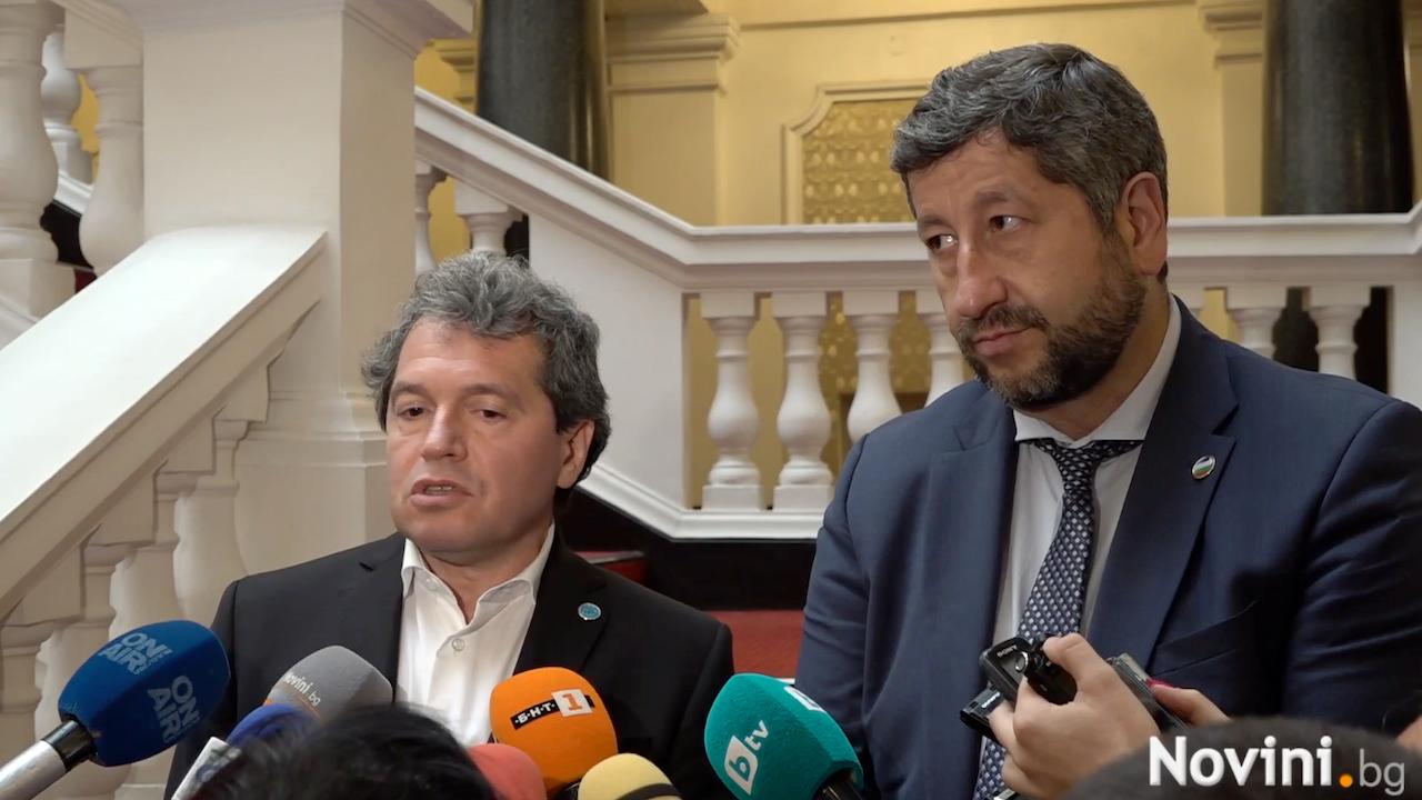 Тошко Йорданов и Христо Иванов: Гледаме в една и съща посока и имаме общи цели, удовлетворени сме от днешния разговор
