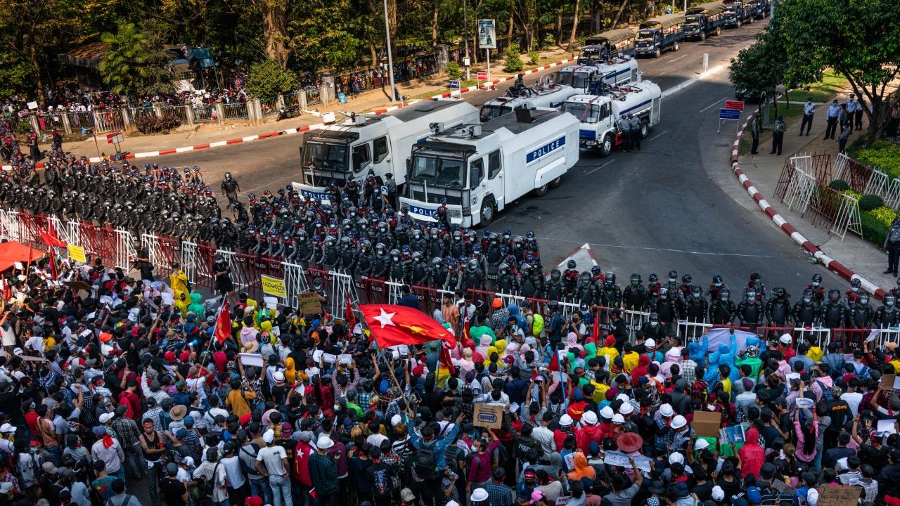 Хунтата в Мианма анулира резултатите от изборите през 2020 г., спечелени от Аун Сан Су Чжи