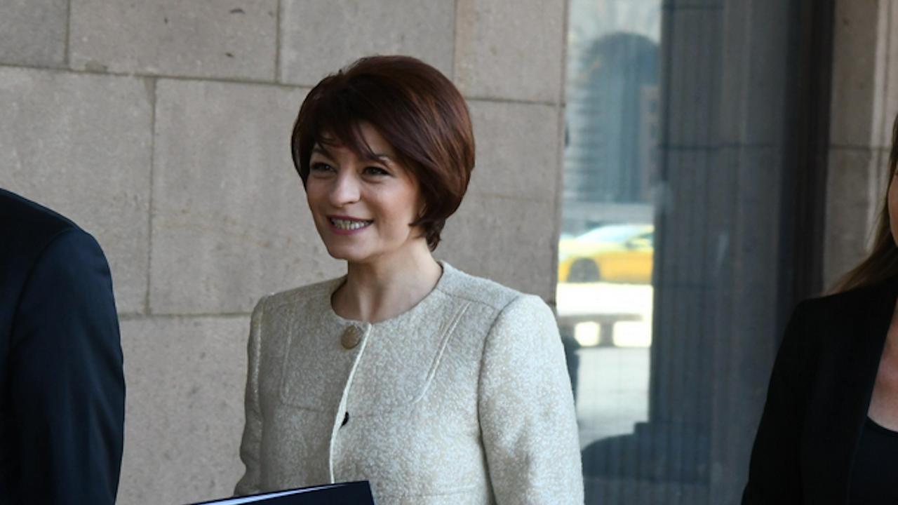 Десислава Атанасова коментира оттеглянето на кандидатурата на Петър Илиев за премиер