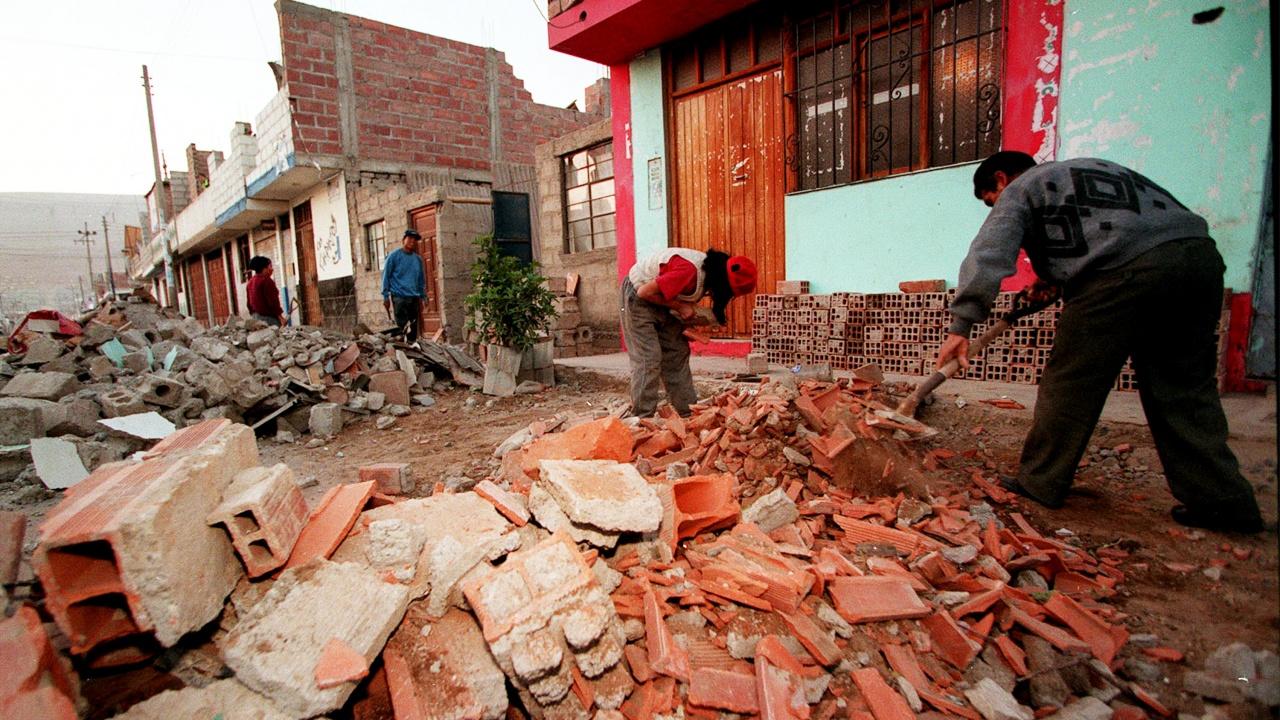Силен трус удари Перу, над 40 души са ранени