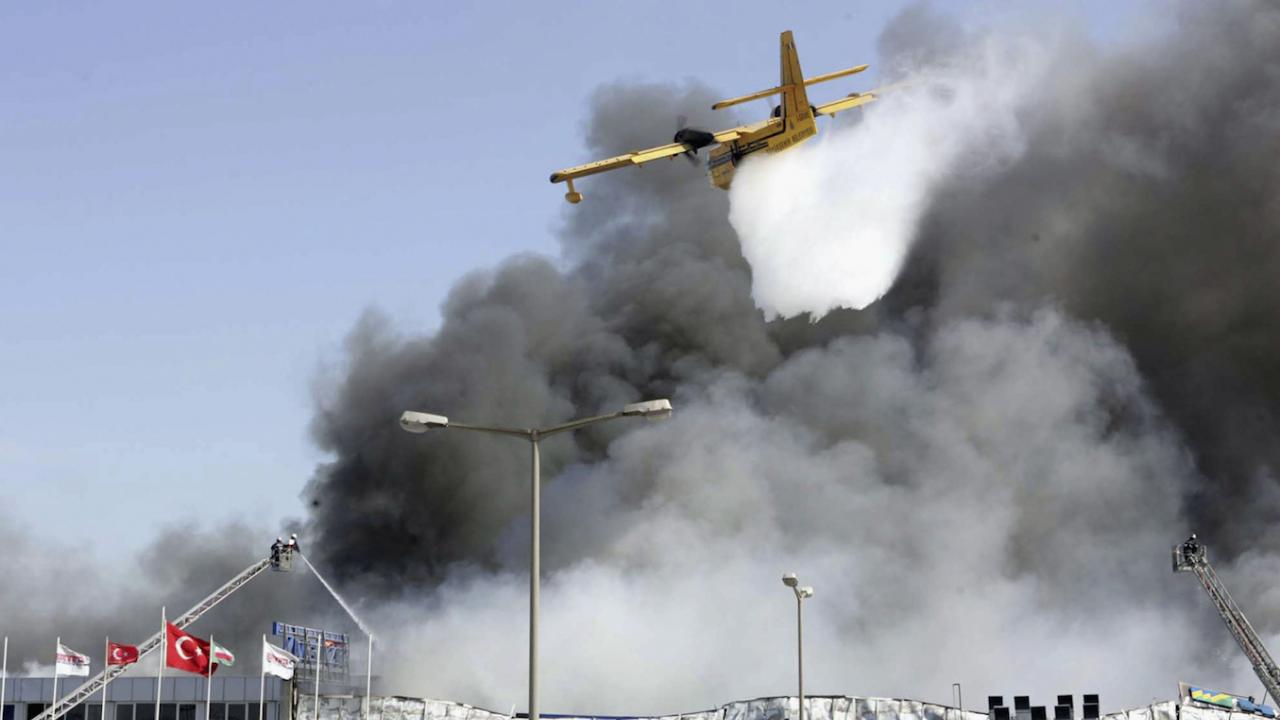 Евакуация в Бодрум заради горски пожар
