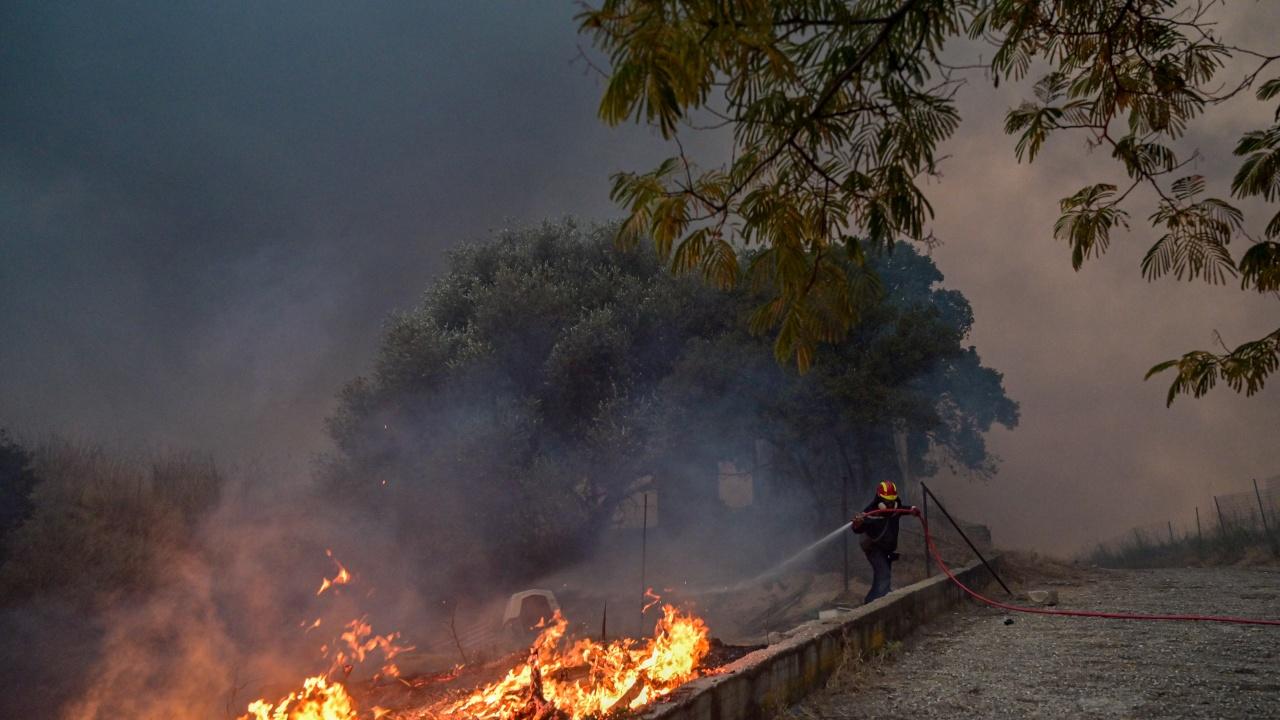 България изпраща помощ на РС Македония за пожарите
