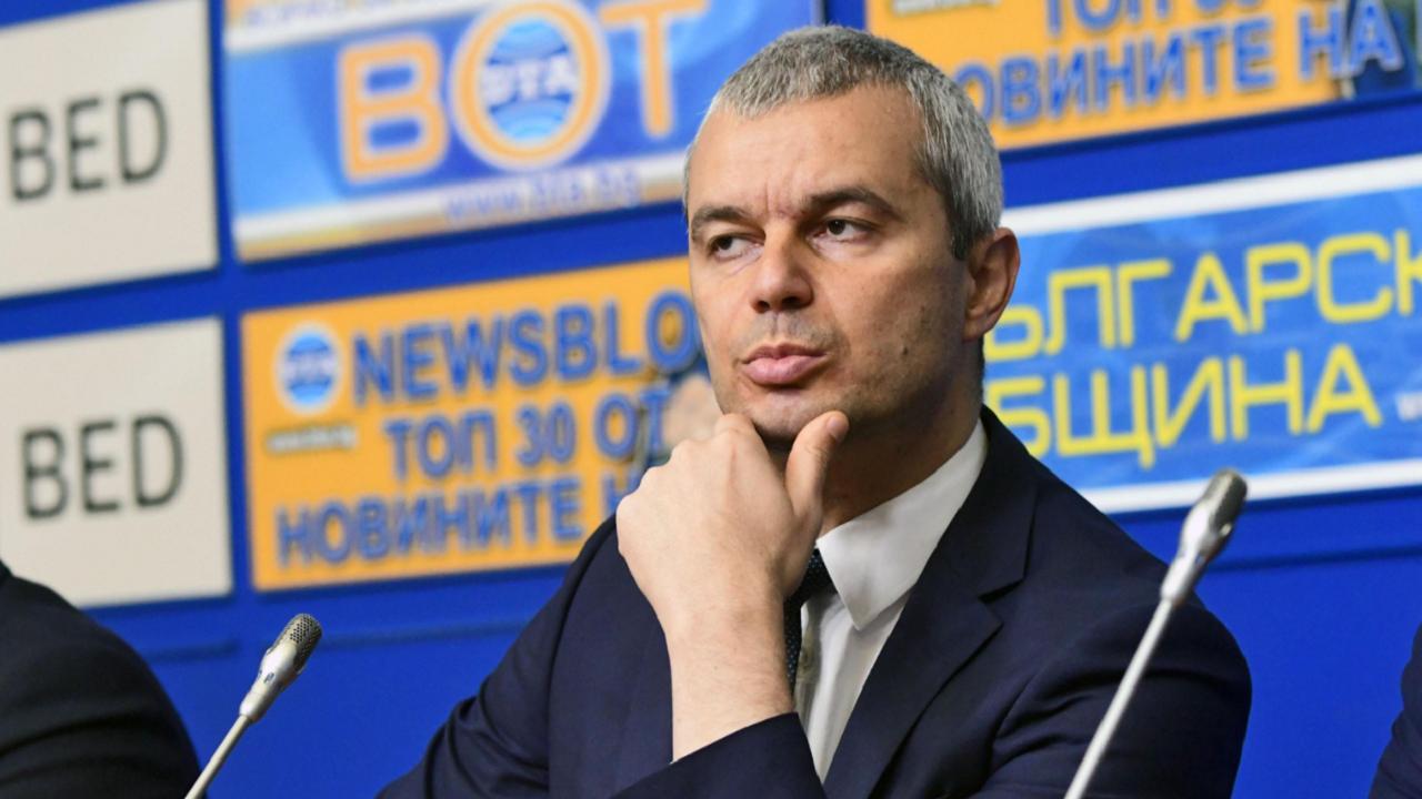 Костадин Костадинов: Поведението на ИТН е безпосочно