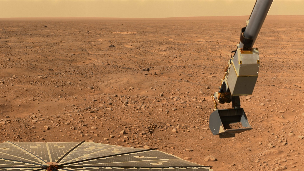 """Китайският марсоход """"Чжужун"""" се разходи по Червената планета"""