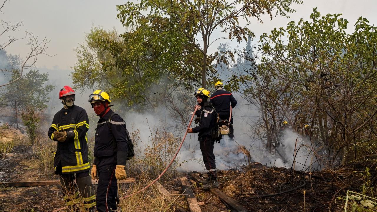 Пожарите в Република Северна Македония отново се разгоряха